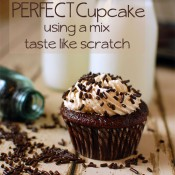 How to make cupcake from mix taste like scratch