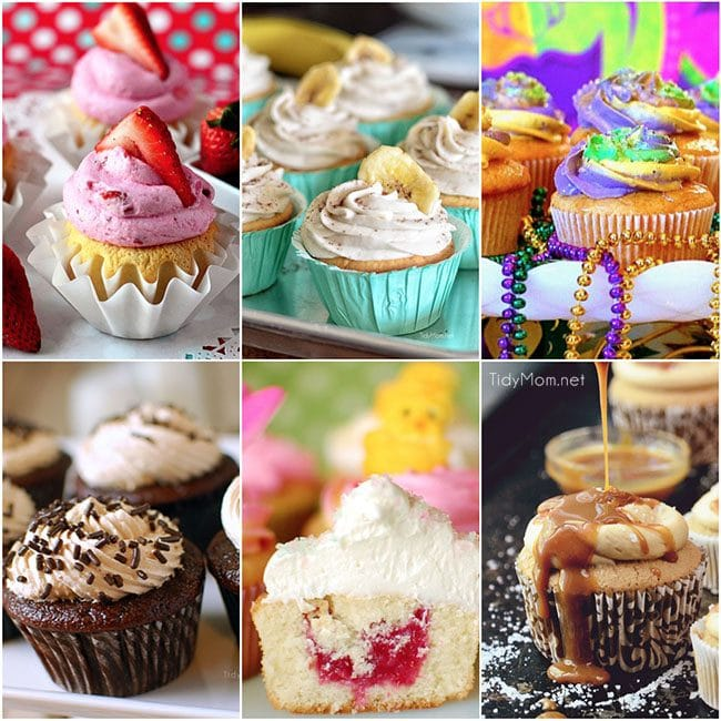 Perfect Cupcake Recipe using a mix is my all time favorite, go to recipe for cupcakes. You can use this trick to make a box cake mix taste like scratch.