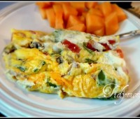 ziplock bag Omelet at TidyMom