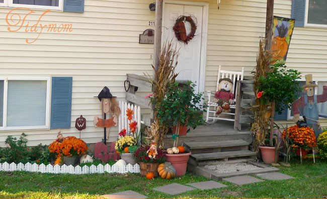 Halloween/Fall porch