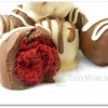 Red Velvet Cake Truffles Cake Balls Cake Pops at TidyMom.net