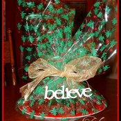 Christmas Fudge Wreath at TidyMom.net