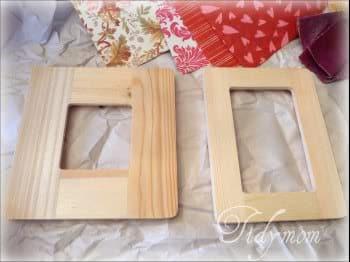 unfinished frames