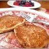 low fat high fiber pancakes at TidyMom.net