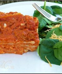 Lasagna recipe at TidyMom.net