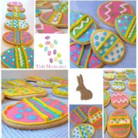 decorated Easter Cookies at TidyMom.net