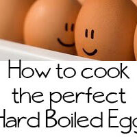How to cook the perfect hard boiled egg at TidyMom.net