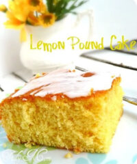Every bite of this Lemon Pudding Pound Cake is bursting with lemony goodness! Lemon pudding mix is the secret weapon to making this cake extra moist and delicious. Get the full printable recipe at Tidymom.net