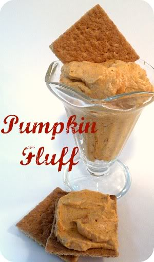 Diety Friendly Snack! Pumpkin Fluff recipe at TidyMom.net