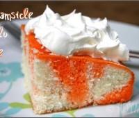 Orange Dreamsicle Cake recipe at TidyMom.net