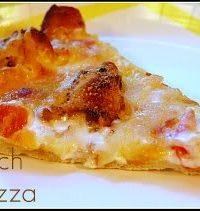 garlic ranch chicken pizza