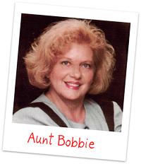 Aunt Bobbie
