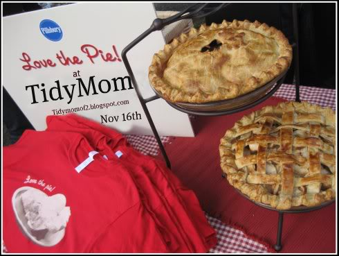 Love the pie party at TidyMom .net