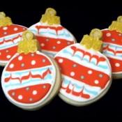 ornaments cookies