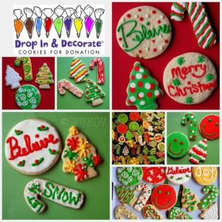 Decorated Chrismas Cookies