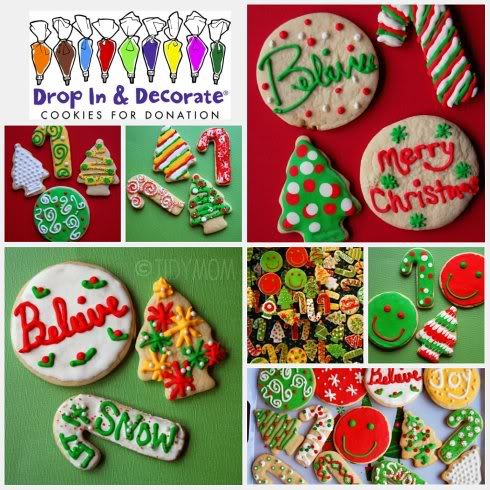 Decorated Chrismas Cookies