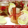 homemade sugarscrub recipe