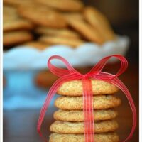 snickerdoodle cookies at TidyMom.net
