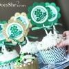 st patricks day cupcake