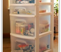 baking supplies organization at TidyMom.net