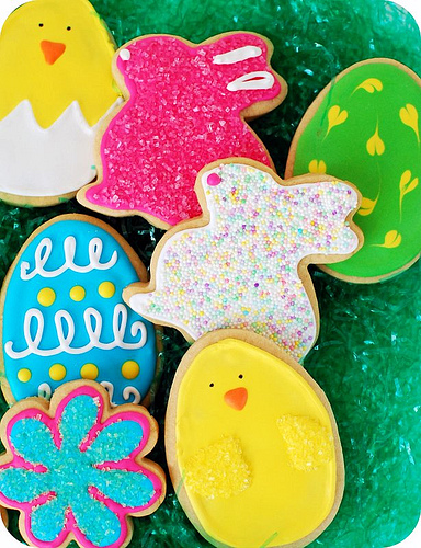 Tidymom's easter cookies