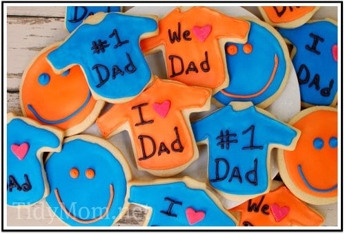 Father's Day Cookie Tray at TidyMom
