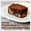 Gooey Upside down German Chocolate Cake at TidyMom.net