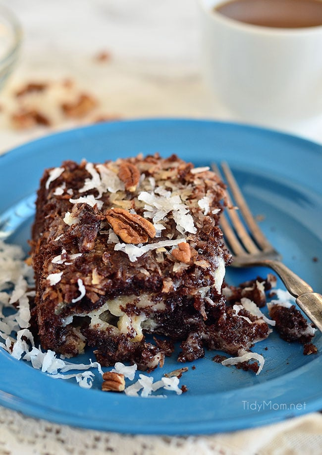 German Chocolate Cake With A Twist Recipe
