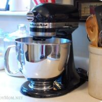 KitchenAid Mixer at TidyMom
