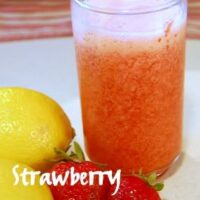 frozen strawberry lemonade