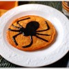 Spider Pumpkin Pancakes