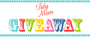 TidyMom Giveaway