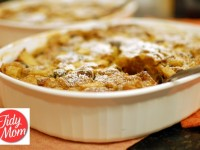 Apple N Peanut Butter Bread Pudding