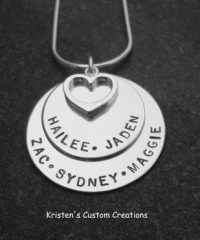 Double Stacked A lot Of Love Necklace