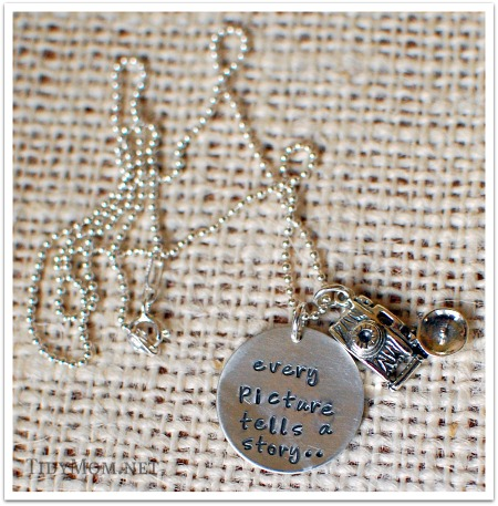 every picture tells a story necklace