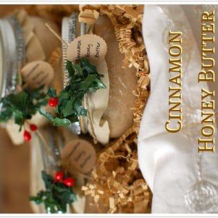 Cinnamon Honey Butter {jar gift}