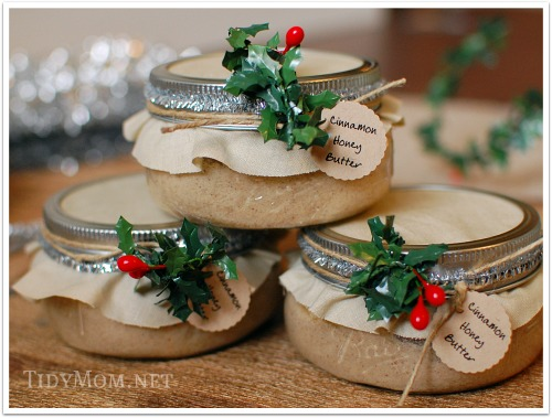 Cinnamon Honey Butter Jars