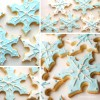 Snowflake Cut Out Cookies