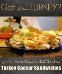 Turkey Caesar Sandwich