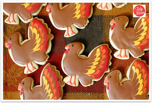 Turkey sugar cookies