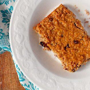 Baked Peanut Butter Oatmeal recipe at TidyMom.net