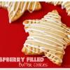 Raspberry cookies titled