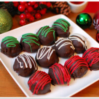 Red Velvet Christmas Truffles