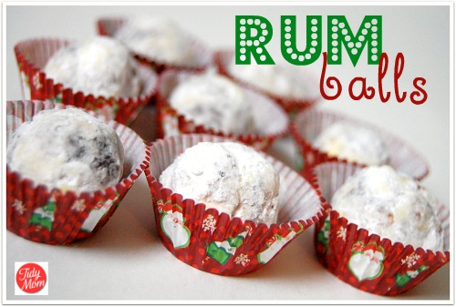Rum Balls recipe at TidyMom.net