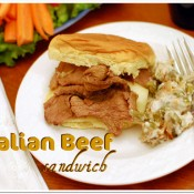 Italian Beef Sandwich