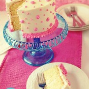 Pink Birthday Cake