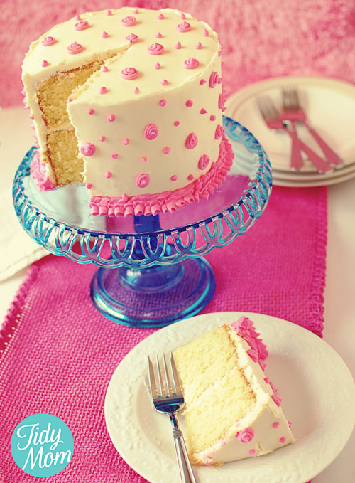 Cake Decorating Birthday Cakes : How to Decorate Birthday Cake with Butter Cream