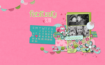 Leelou Blogs feb 2011 custom wallpaper image