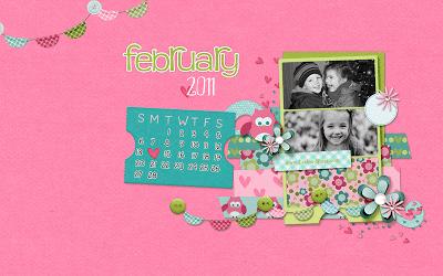 Leelou Blogs feb 2011 custom wallpaper image