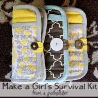 Girl's Emergency clutch